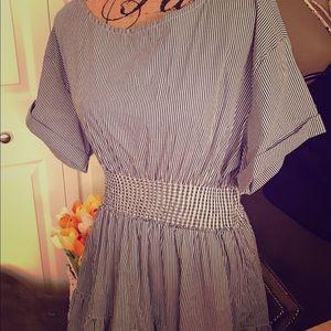 NWT Vineyard Vines Seersucker Linen Dress